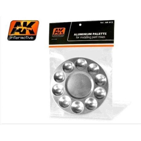 AK INTERACTIVE: Tavolozza in alluminio con 10 vani
