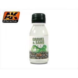AK INTERACTIVE: fissatore per ghiaino e sabbia