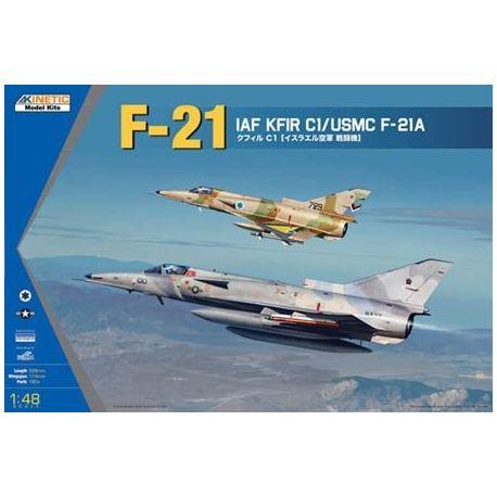KINETIC 48053 F-21/KFIR C1