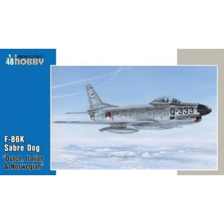 """Special Hobby 48123 F-86K """"NATO All Weather Fighter"""""""
