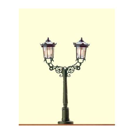BRAWA 4534 LAMPIONE DOPPIO DA PARCO SCALA N