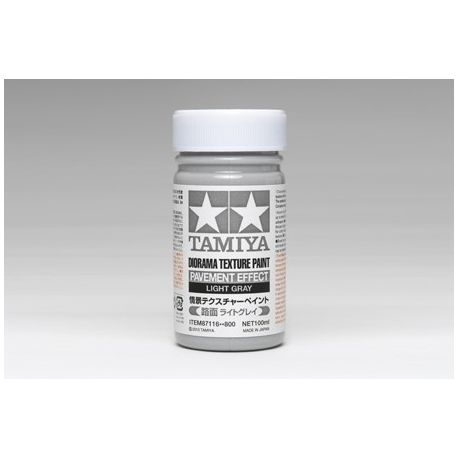 TAMIYA DIORAMA TEXTURE PAINT PAVEMENT EFFECT, LIGHT GRAY