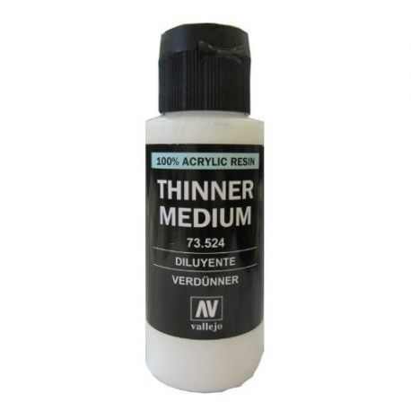 VALLEJO THINNER MEDIUM 60ml