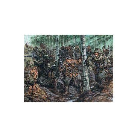 ITALERI 6068 GERMAN ELITE TROOPS WWII