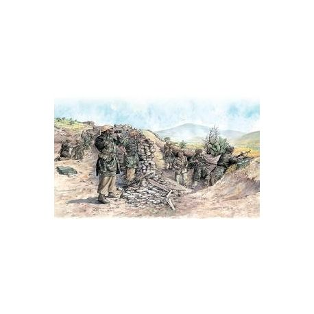 ITALERI 6134 GERMAN PARATROOPERS - TROPICAL UNIFORM WWII