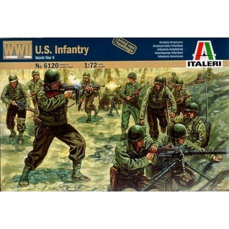 ITALERI 6120 AMERICAN INFANTRY WWll