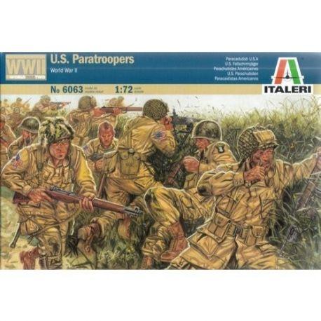 ITALERI 6063 U.S. PARATROOPERS WWll