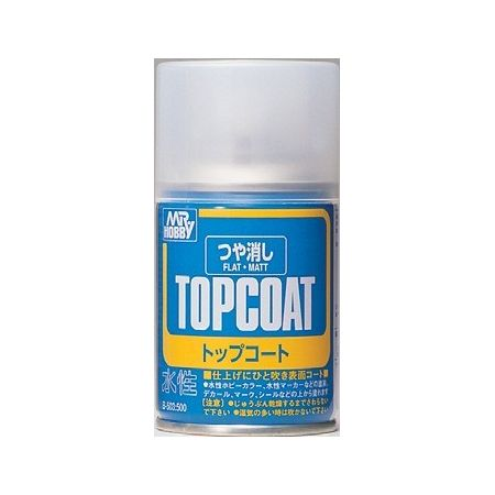 MR TOP COAT FLAT SPRAY 86ml