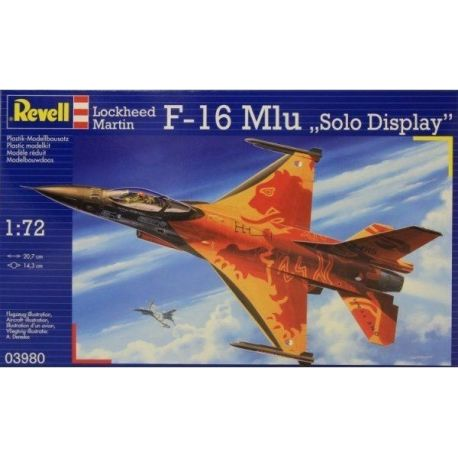 Revell 03980 Lockheed Martin F-16 Mlu Solo Display