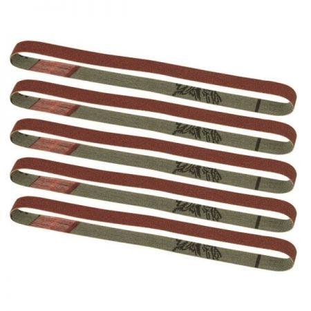 PROXXON 28583 Nastri abrasivi di ricambio per BS/E grana 80