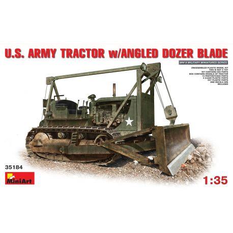 MINIART US ARMY TRACTOR w/ANGLED DOZER BLADE