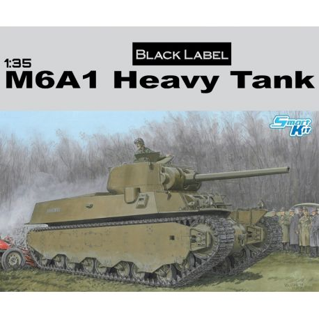 DRAGON 6789 BLACK LABEL 1/35 M6A1 Heavy Tank