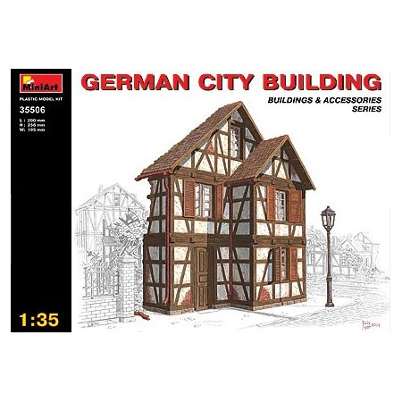 MINI ART 35506 GERMAN CITY BUILDING