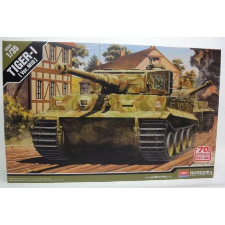 ACADEMY 13287 German Tiger I Mid Version, Invasion of Normandy 70th Anniversary