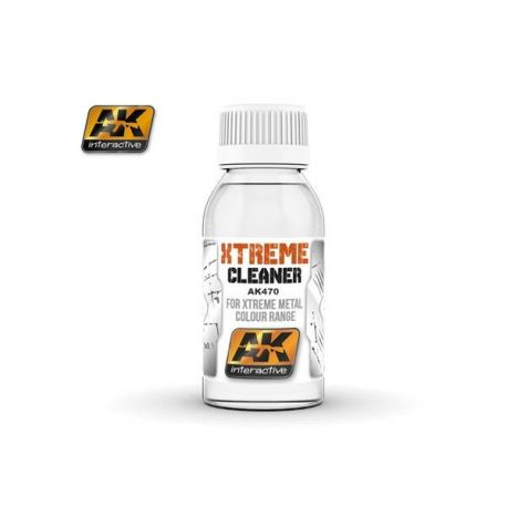 AK INTERACTIVE: XTREME CLEANER for Xtreme metal colour range - 100ml