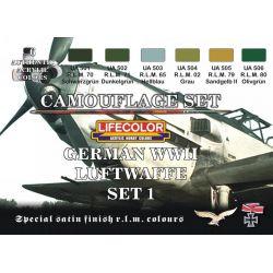 Life Color German WWII Luftwaffe colours set 1