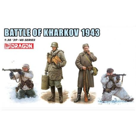 Dragon 6782 Battle of Kharkov 1943 1:35
