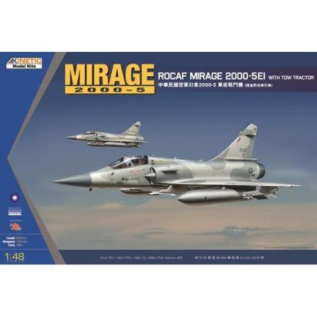 KINETIC 48045 MIRAGE 2000C ROCAF W/ TRACTOR