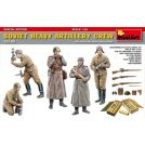MINIART 35185 SOVIET HEAVY ARTILLERY CREW 1/35