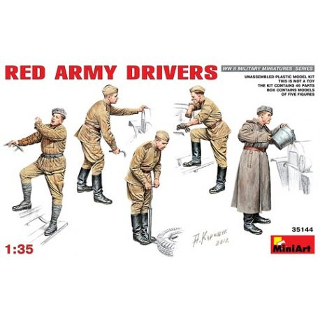 MINIART 35144 RED ARMY DRIVERS 1/35