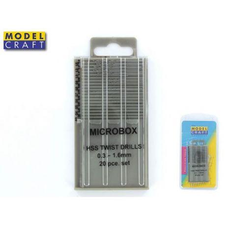 Set micro punte 0,3-1,6 mm (20 pz)