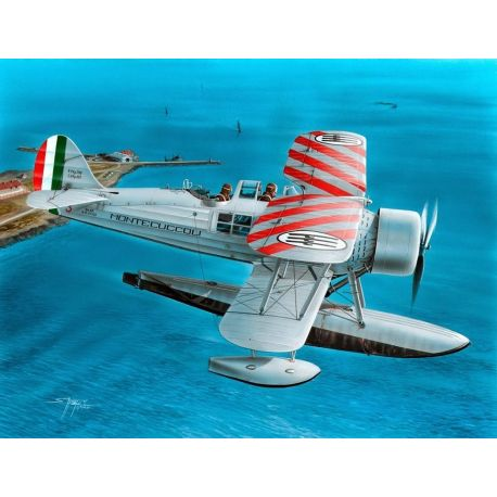 "Special Hobby 1/48 SH48137 IMAM(Romeo) Ro.43 ""Red Stripes"""