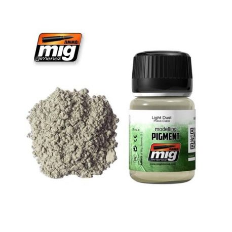 AMMO OF MIG: LIGHT DUST (PIGMENT)
