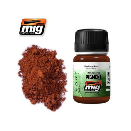 AMMO OF MIG: MEDIUM RUST (PIGMENT)