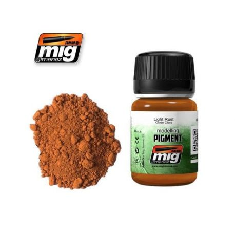 AMMO OF MIG 3006 LIGHT RUST PIGMENT