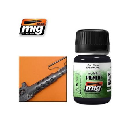 AMMO OF MIG: DARK STEEL (PIGMENT)