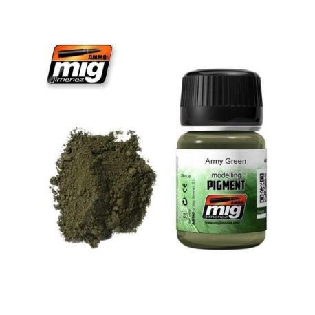 AMMO OF MIG: ARMY GREEN (PIGMENT)