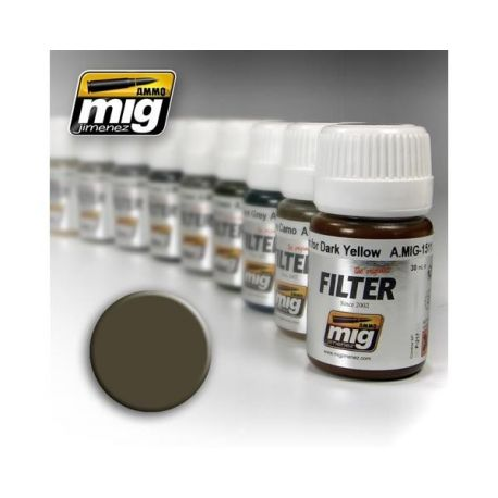 AMMO OF MIG: Filtro DARK GREY FOR WHITE 35ml