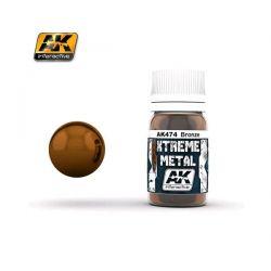 AK INTERACTIVE: XTREME METAL Bronze - 30 ml
