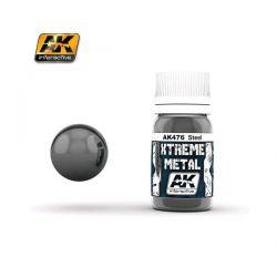 AK INTERACTIVE: XTREME METAL Steel - 30 ml