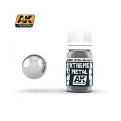 AK INTERACTIVE: XTREME METAL White Aluminium - 30 ml