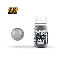 AK INTERACTIVE: XTREME METAL Matte Aluminium- 30 ml