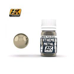 AK INTERACTIVE: XTREME METAL Pale Brass - 30 ml