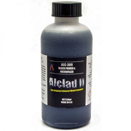 Alclad II: Black primer and Microfiller 120ml