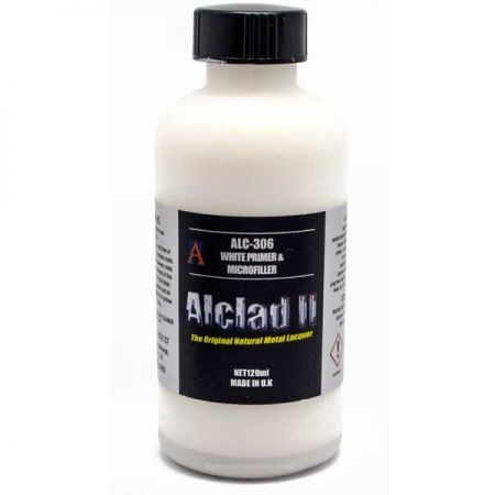 Alclad II: White Primer and Microfiller 120ml