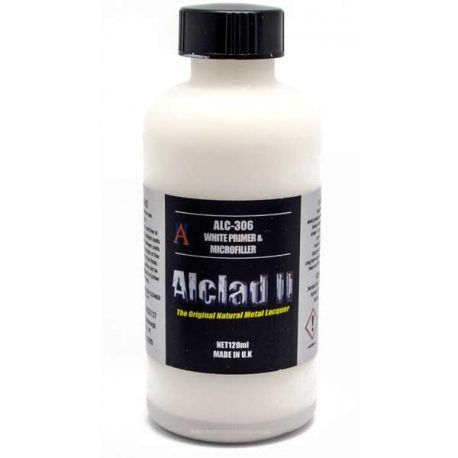 Alclad ALC306 White Primer and Microfiller 60ml