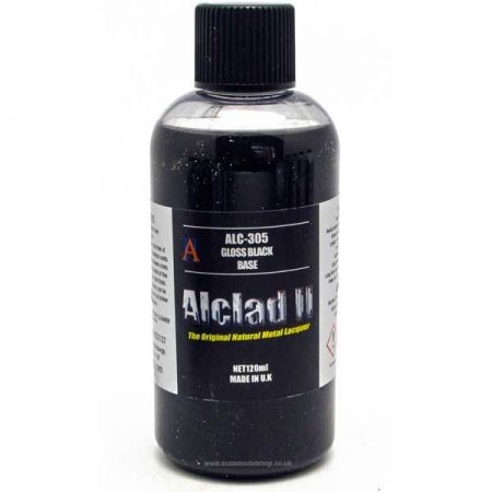 Alclad II: Gloss Black Base Primer 120ml
