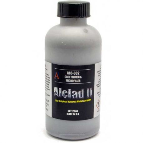 Alclad II: Grey Primer and Microfiller 120ml