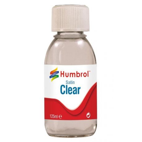 Humbrol Satin Clear- 125ml