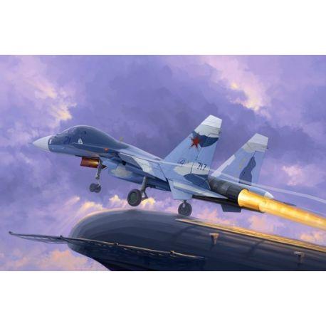 TRUMPETER 01669 Russian Su-33UB Flanker D
