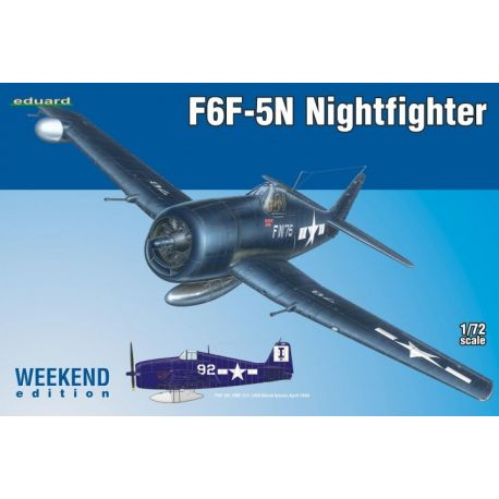 EDUARD 7434 F6F-5N Nightfighter