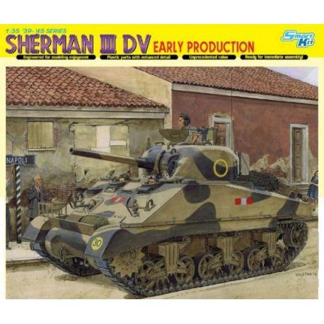 DRAGON 6573 Sherman III DV Early Production