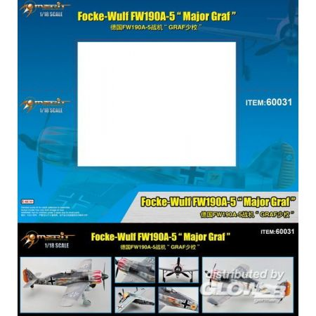 Merit 60031 Focke-Wulf FW190A-5 Major Graf in 1:18