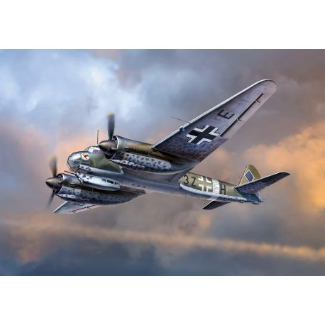 ICM 48234 Junkers Ju 88A-14 WWII German Bomber NEW