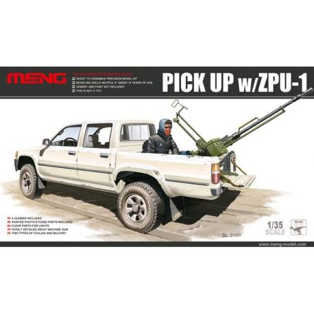 MENG MODEL: pick-up con ZPU-1