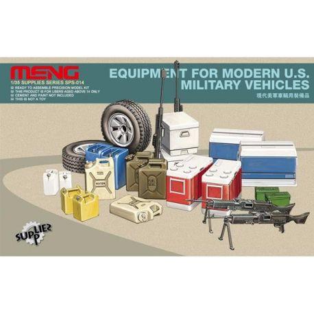 MENG MODEL: Equipaggiamento per veicoli moderni U.S. Military